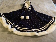 Childs Winter Cape With Hood By Yue Ran Boutiques