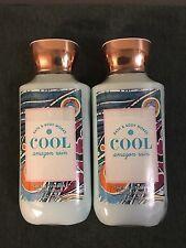 2 Bath and Body Works Cool Amazon Rain 8 oz Body Lotion Lot