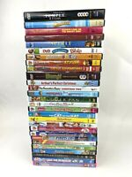 Bulk lot of 28 Dreamworks, Nickelodeon & Others kids DVD movies Over The Hedge +