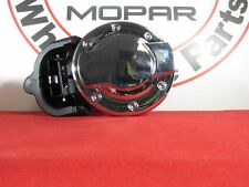DODGE RAM 1500-3500 Chrome Aluminium Fuel Filler Door NEW OEM MOPAR