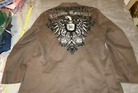 Xtreme Couture Brown Blazer mens size LARGE 44-46