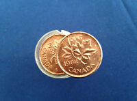1962 Canada One Cent Brilliant Uncirculated Roll of 50 coins E4939