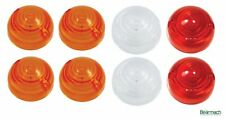 Indicatore, Lato & Coda Luce Lampada Lens Kit-Set di 8-serie Defender/