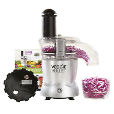 Veggie Bullet by NutriBullet Electric Food Processor 3-in-1 Vegetable Spiraliser