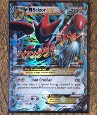 Pokemon Card  MEGA SCIZOR EX  Ultra Rare  77/122  BREAKPOINT ***MINT***