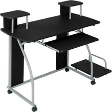 Computer PC Desk Work Table Youth Student Office Work Station Furniture Black