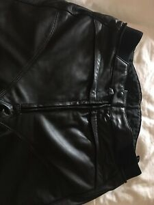 hein gericke ladies Leather Trousers Waist 34