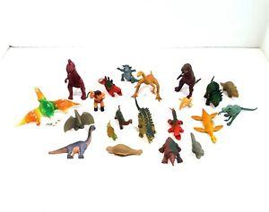 Vintage Dinosaurs Plastic Toys Lot of 21