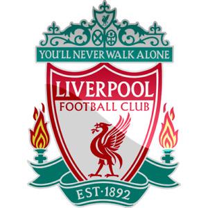 Liverpool FC PVC Outdoor/indoor Car/Window sticker 1+1 free vinyl sticker
