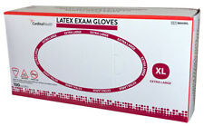 Cardinal Health Extra Large Powder Free Latex Medical Exam Glove Box of 100