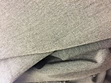 fabric suiting grey marled flecked med weight grey material dressmaking 220 150