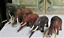 Lot of 5 Woolly Mammoth Figures
