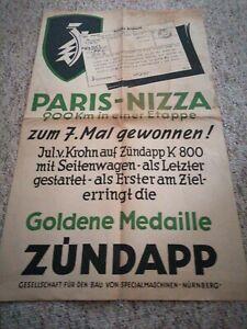 Plakat Zündapp