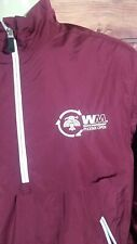 Waste Management Phoenix Open TPC Scottsdale Oxford Size Small Maroon Jacket