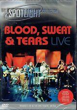 BLOOD, SWEAT & TEARS - LIVE HALIFAX 1980  DVD -FREE POST IN UK
