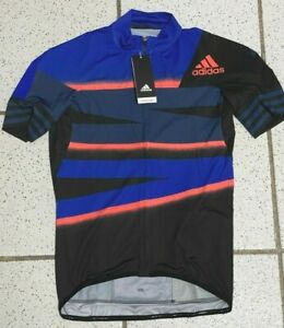 Adidas Adistar Cycling Sz Small Ciclismo Form Fitting Jersey FJ6572 Retails $160