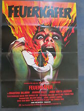 FEUERKÄFER - Filmplakat A1 - Bradford Dillman, Joanna Miles - HORROR