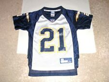 San Diego Chargers LADAINIAN TOMLINSON white & blue Football Jersey youth Small