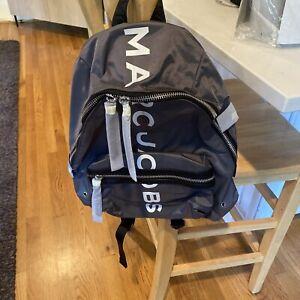 Marc Jacobs Suspiria Logo Print Nylon Backpack $250 NWT -M0016409