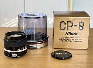 【TOP MINT】NIKON Ai-s 85mm F/2 NIKKOR Lens MF SLR ais film camera AU stock W/case