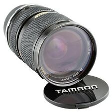 Tamron CF Macro 28-80mm f/3.5-4.5 BBar MC with Adaptall 2 lens for Nikon