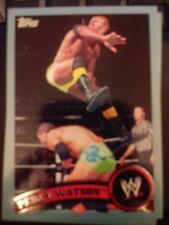 2011 Topps WWE Wrestling BLUE #19 Percy Watson #d 1559/2011