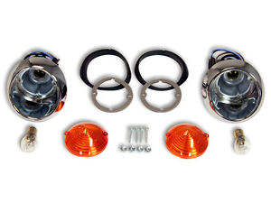 Ford Mustang Park OR Reverse Light Kit 1964 1965 1966 64 65 66 Shelby GT Coupe