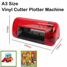 A3 Sign Vinyl Cutter Plotter Machine With Contour Cut Function Card Stickers