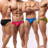 New Fashion Men's Bikini Boxer Bottoms Underwear Super Smooth Low-rise Briefs