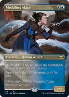Meddling Mage - Borderless x1 Magic the Gathering 1x Double Masters mtg card