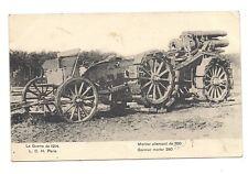la guerre de 1914 mortier allemand de 280