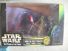 Star Wars POF Jabba Dancers Figure Set Rystall Greeata Lyn Me NIB
