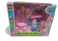 Pig Family Figures Pack  Mummy Daddy   George Kids Play Toy Set New dancing pig