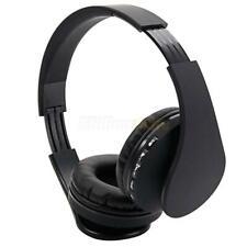 Wireless Headset Foldable Sport Headphone Earphone For iPhone 7 Black