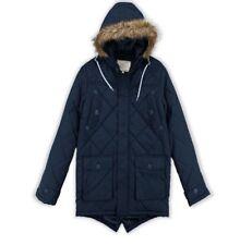 Mens Designer Hood Jacket Cheltenham Brave Soul Quilted Design Parka Winter XL