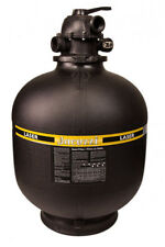"""Jacuzzi Laser 19"""" inch Above Ground Swimming Pool Sand Filter w/ 6-Way Valve"""