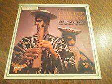 33 tours LOS CALCHAKIS avec GUILLERMO DE LA ROCA volume 2 la flute indienne