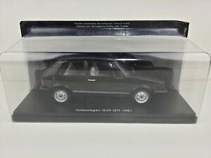 Coche Volkswagen Golf GTI 1981 escala 1/24