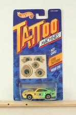 Hot Wheels Tattoo Machines Eye Gore 1992    B14