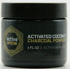 Active WOW Teeth Whitening Charcoal Powder Natural 2fl Oz 59ml