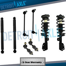 2002-2006 Chevy Equinox Saturn Vue Front Strut Rear Shock Sway Bar Links 8pc Kit