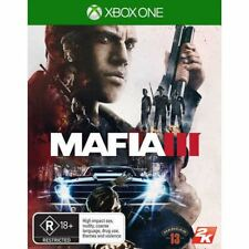 Mafia III 3 includes Family kick Back pack Xbox One New and Sealed