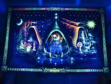 Trippy Backdrop Wall Hanging Tapestry Psychedelic Fluorescent Blacklight