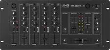 Monacor IMG STAGELINE MPX-205/SW Stereo-DJ-Mischpult Mischpulte, Analoge