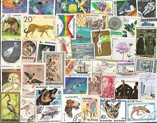 LOTS AND LOTS OF WORLDWIDE POSTAGE STAMPS AT 3 CENT EACH BUY 50 OR 1000 ssßß