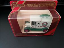 MATCHBOX MODELS OF YESTERYEAR Y12-3 1912 MODEL T VAN HJ Heinz Issue collectible