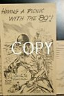 #D1181,Rare WWII Signed Ralph Owen 80th Infantry Div Postcard 1943