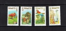 Brazil: 1973 Birds, Brazillian Flora and Fauna, MNH set