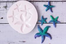 Silicone Mould, Starfish, Beach, Ocean, Sea,  Food Safe, Ellam Sugarcraft  M195