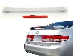 for 2003 2004 2005 2006 2007 Honda Accord Sedan Rear Trunk Spoiler, With Light
